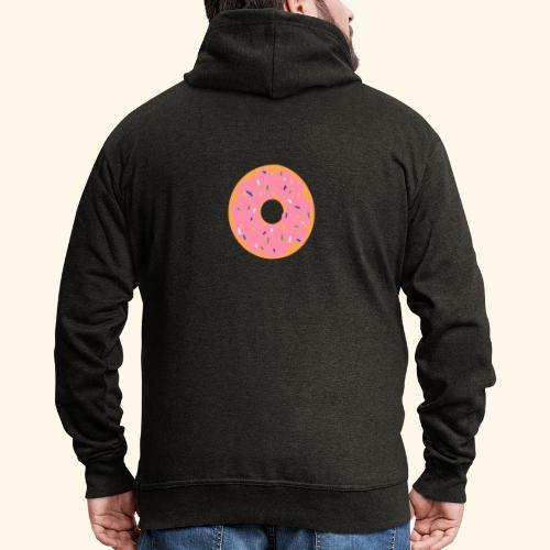 Donut-Shirt - Männer Premium Kapuzenjacke