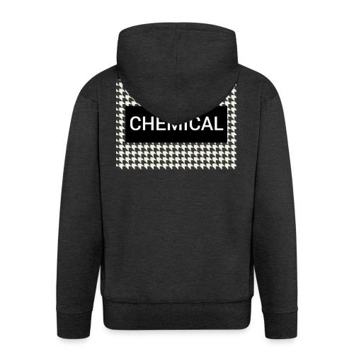 CHEMICAL - Felpa con zip Premium da uomo
