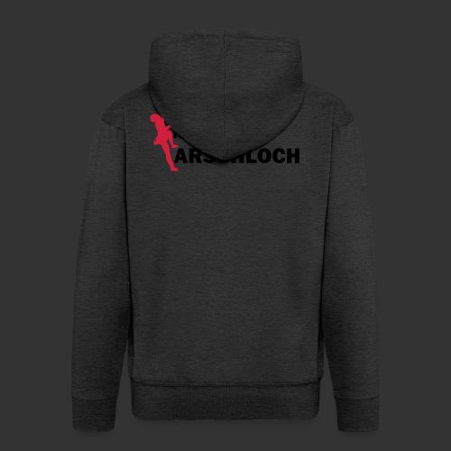 Gravitation Arschloch - Männer Premium Kapuzenjacke