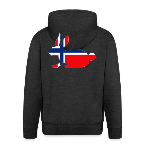 norwegian bunny - Men's Premium Hooded Jacket