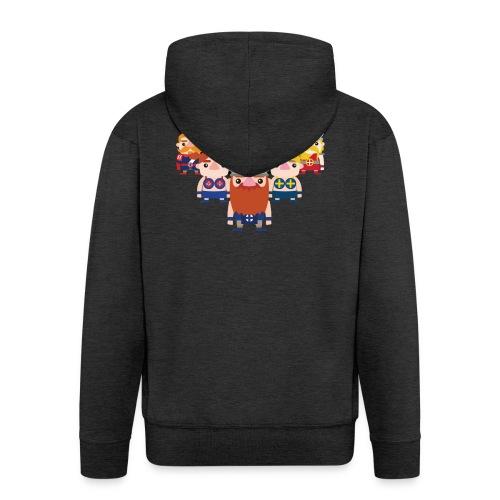 Viking Friends - Men's Premium Hooded Jacket