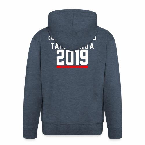 CF Naantalin virallinen huppari 2019 - Miesten premium vetoketjullinen huppari