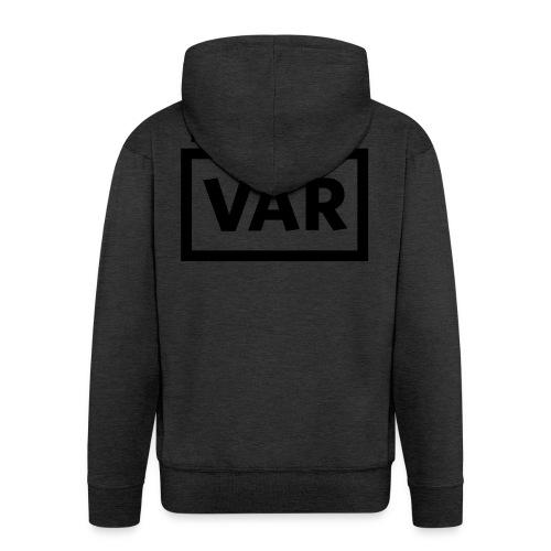 Make Love Not Var - Mannenjack Premium met capuchon
