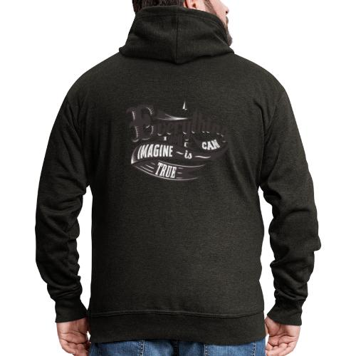 Everything you imagine - Männer Premium Kapuzenjacke