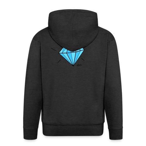 diamant-22466 - Felpa con zip Premium da uomo