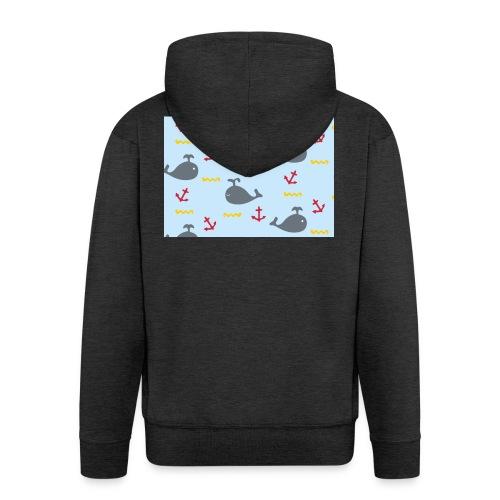 Whale Case - Chaqueta con capucha premium hombre