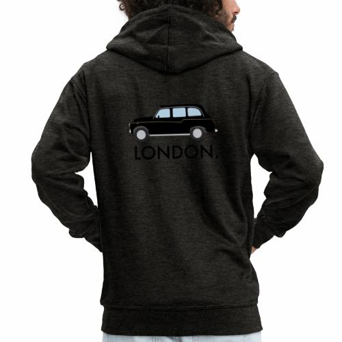 Black Cab - Men's Premium Hooded Jacket