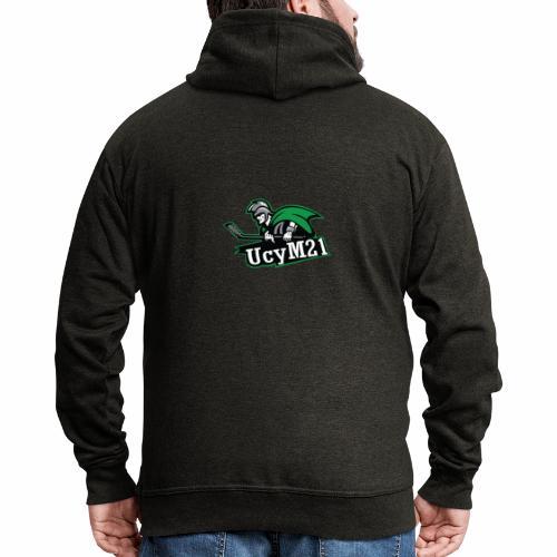 UCY M21 Logo - Veste à capuche Premium Homme