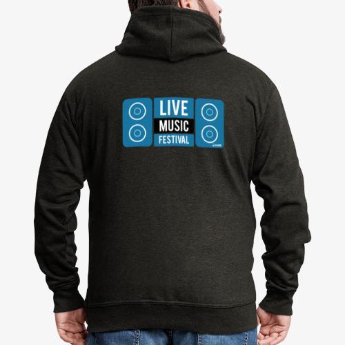 Sound 005 - Chaqueta con capucha premium hombre