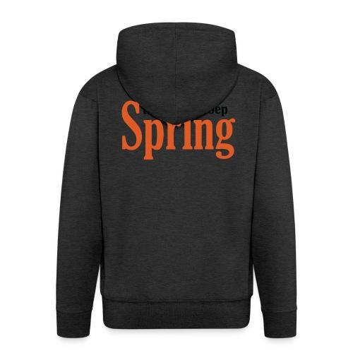 T-shirt met logo Theatergroep Spring | Unisex - Mannenjack Premium met capuchon