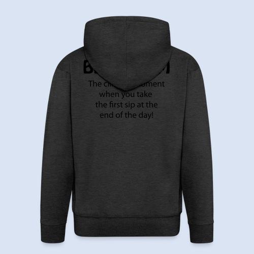 Beergasm - All about Beer - Männer Premium Kapuzenjacke