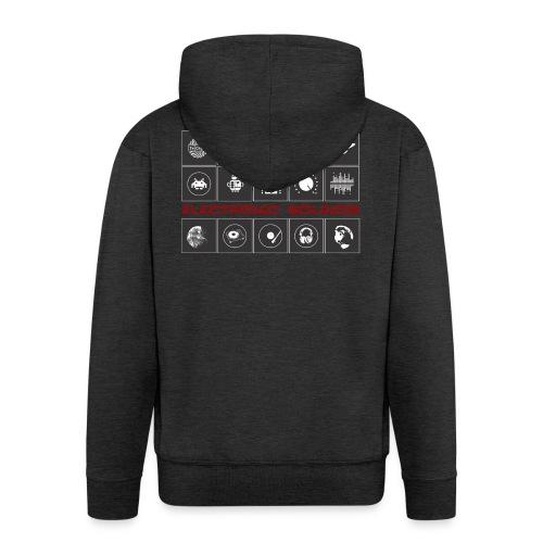 T-Shirt 14 & ONE Electronic Sounds - Geschenkidee - Männer Premium Kapuzenjacke
