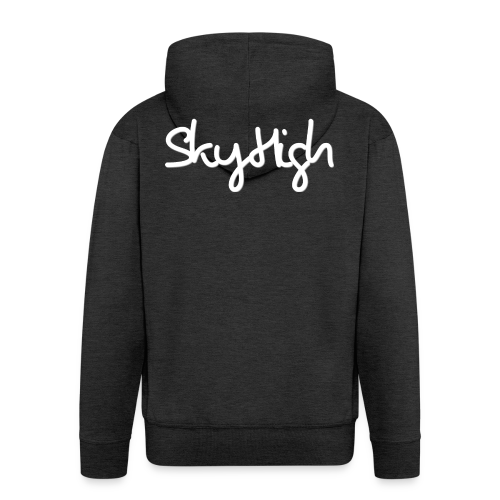 SkyHigh - Snapback - (Printed) White Letters - Men's Premium Hooded Jacket
