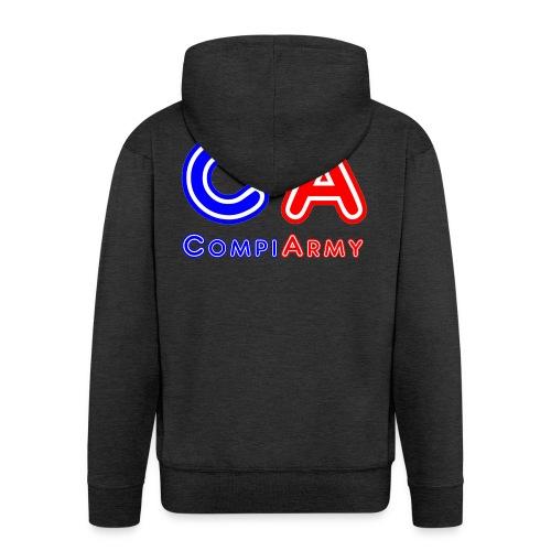 CompiArmy Design | bit.ly/compiarmyyt - Männer Premium Kapuzenjacke