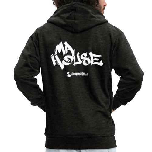 My House * by DEEPINSIDE - Men's Premium Hooded Jacket