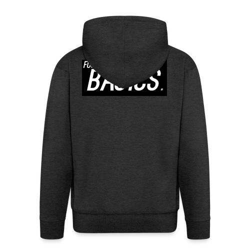 BLACK_AND_WHITE - Men's Premium Hooded Jacket