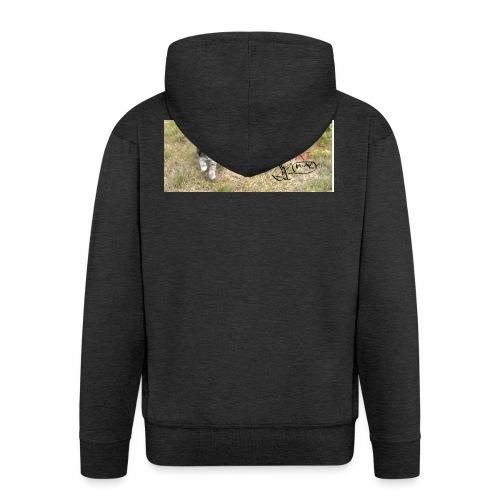 catssin's craat - Rozpinana bluza męska z kapturem Premium