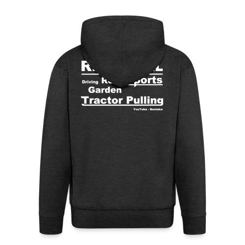 teenager - Real girl - Herre premium hættejakke
