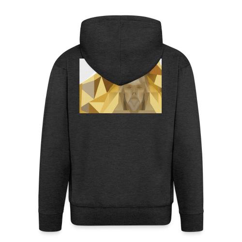 In awe of Jesus - Men's Premium Hooded Jacket