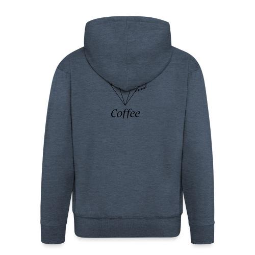 Coffee Diamant - Männer Premium Kapuzenjacke