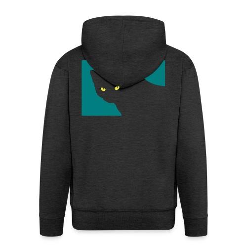 Spy Cat - Men's Premium Hooded Jacket