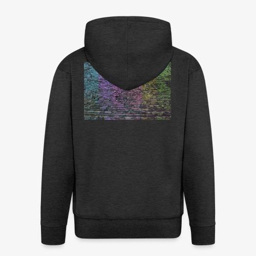 Regenbogenwand - Männer Premium Kapuzenjacke