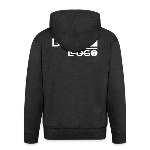HOODIE DEL LUOGO (NERO,GRIGIO,ROSSO) - Men's Premium Hooded Jacket