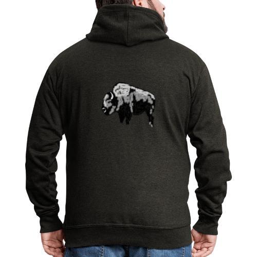 Chunky Bison - Männer Premium Kapuzenjacke