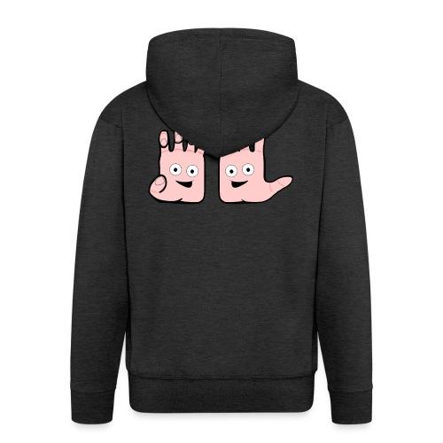 Winky Hands - Men's Premium Hooded Jacket