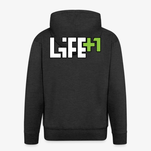Life +1 - Men's Premium Hooded Jacket