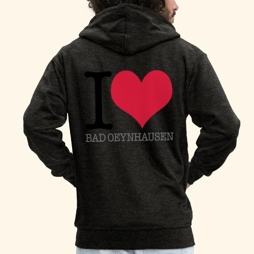 Love is in the Kurstadt - Männer Premium Kapuzenjacke