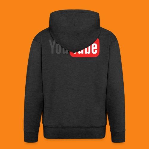 Youtube-logo-2014 - Chaqueta con capucha premium hombre