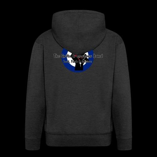Grits & Grooves Band - Men's Premium Hooded Jacket