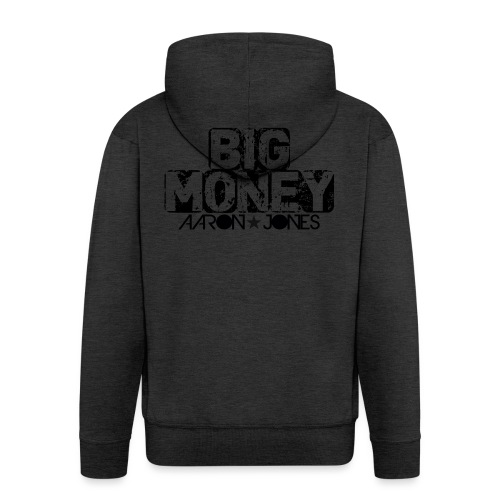 Big Money aaron jones - Felpa con zip Premium da uomo