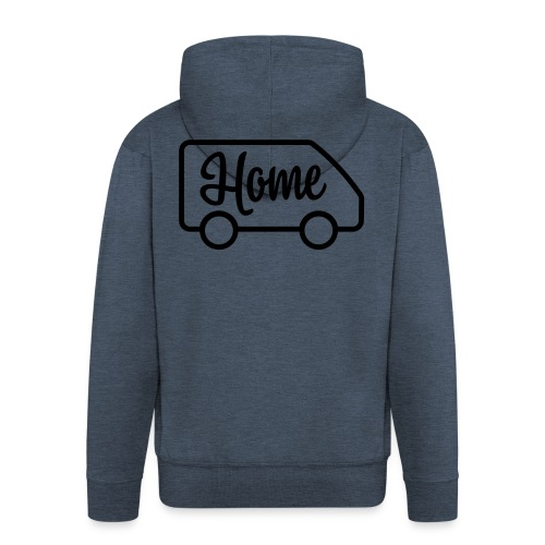 Home in a van - Autonaut.com - Men's Premium Hooded Jacket