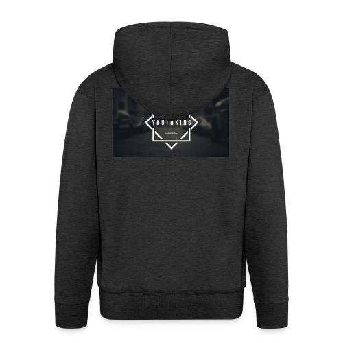 Youth King logo - Men's Premium Hooded Jacket