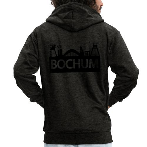 Bochumer Skyline - Männer Premium Kapuzenjacke