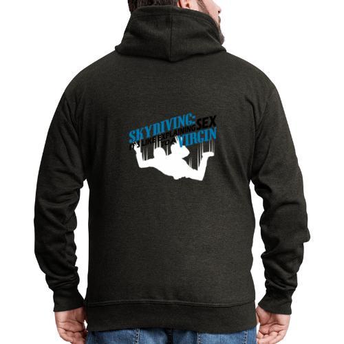skydiving - Mannenjack Premium met capuchon