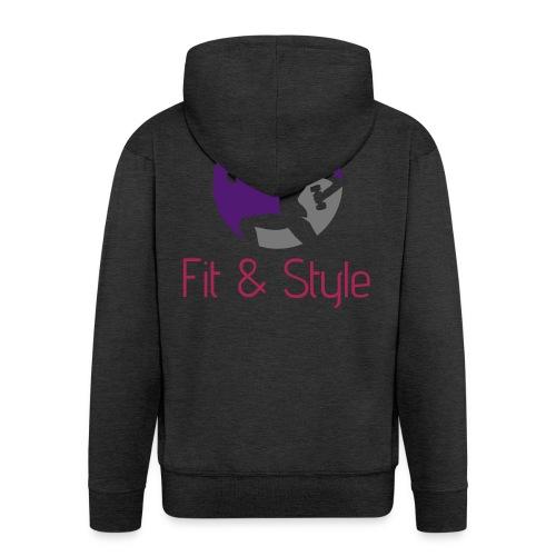 Fit & Style shirt - Mannenjack Premium met capuchon