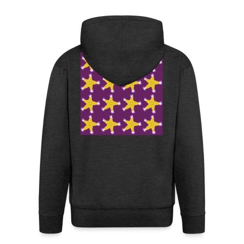 Starry pattern - Men's Premium Hooded Jacket
