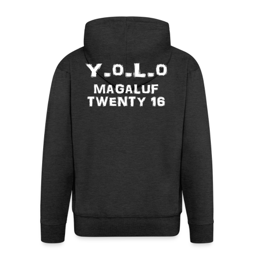 Yolo-Magaluf- Twenty 16 - Men's Premium Hooded Jacket
