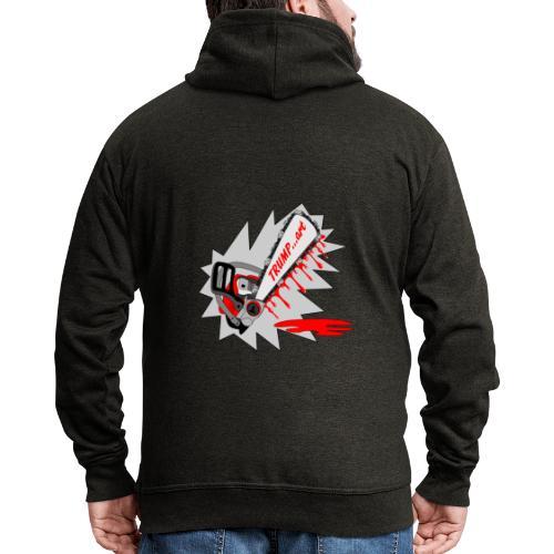 t shirt trump ...art la politique tronconneuse - Veste à capuche Premium Homme