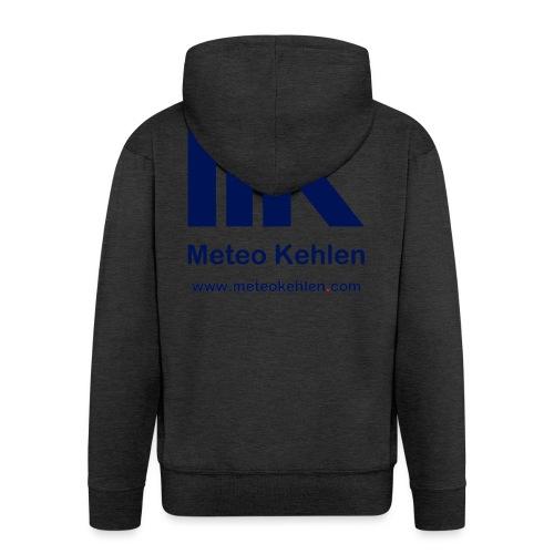 mk logo www. - Männer Premium Kapuzenjacke