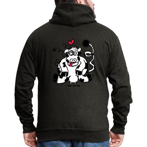Unbridled Cow's Passion - Men's Premium Hooded Jacket