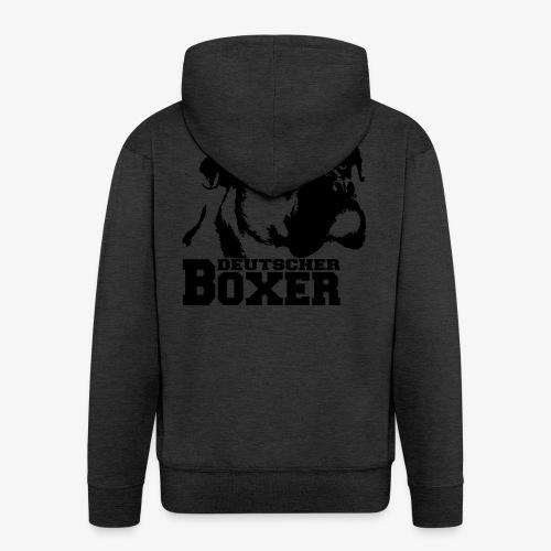 Deutscher Boxer - Männer Premium Kapuzenjacke
