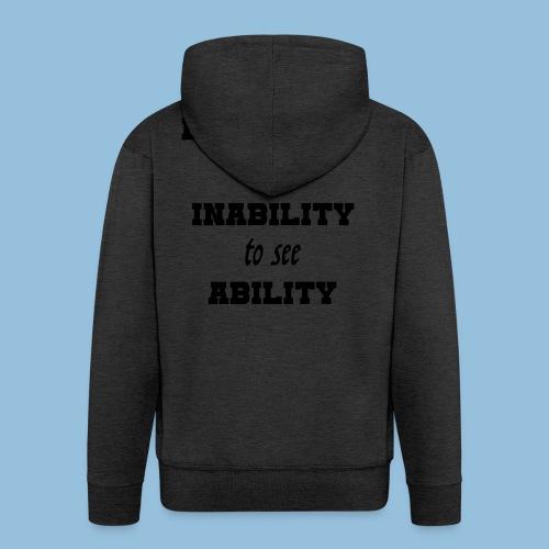 Ability4 - Mannenjack Premium met capuchon