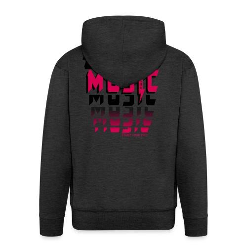 Music is all i need - Männer Premium Kapuzenjacke