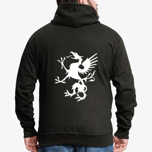 griffon blanc - Veste à capuche Premium Homme