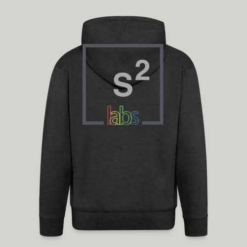 s2labs logo - Men's Premium Hooded Jacket