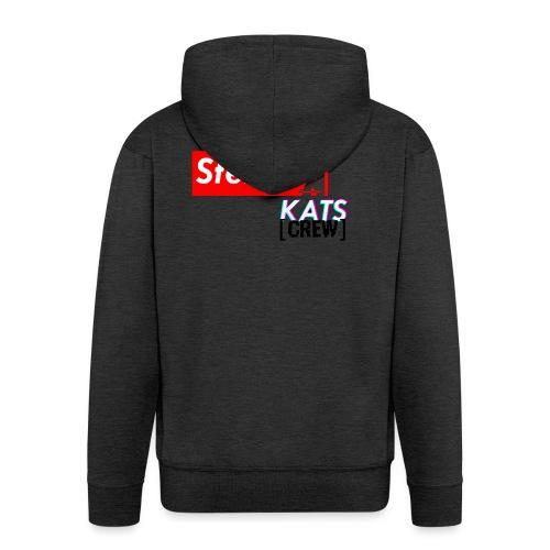 Stefan Sup - Rozpinana bluza męska z kapturem Premium